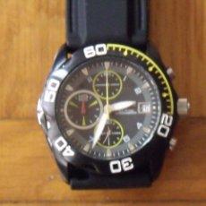 Relojes - Citizen: VAGARY. CITIZEN. 0F10. JAPAN. BUEN ESTADO. 4 CM DIÁMETRO. CORREA CAUCHO NUEVA. 25 CM. DEPORTIVO.. Lote 200658823