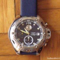 Relojes - Citizen: VAGARY. CITIZEN. 0F10. JAPAN. BUEN ESTADO. 4,5 CM DIÁMETRO. CORREA CAUCHO NUEVA. 23 CM. DEPORTIVO.. Lote 200659067
