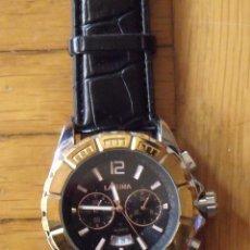 Relojes - Citizen: LAFUMA. NO. 2201. BUEN ESTADO. 4,5 CM DIÁMETRO. CORREA DE PIEL. 25 CM. FUNCIONA PERFECTAMENTE.. Lote 200659877