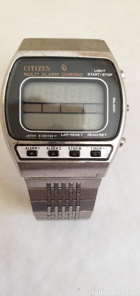 RELOJ CITIZEN MULTI ALARMA CHRONO (Relojes - Relojes Actuales - Citizen)