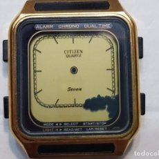 Relógios - Citizen: RELOJ CITIZEN SEVEN QUARTZ DIGITAL MUY RARO. Lote 208773202