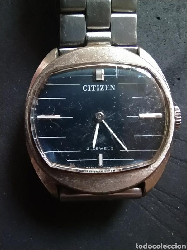 Relojes - Citizen: Reloj CITIZEN Antiguo 21 dewels - Foto 2 - 211999345