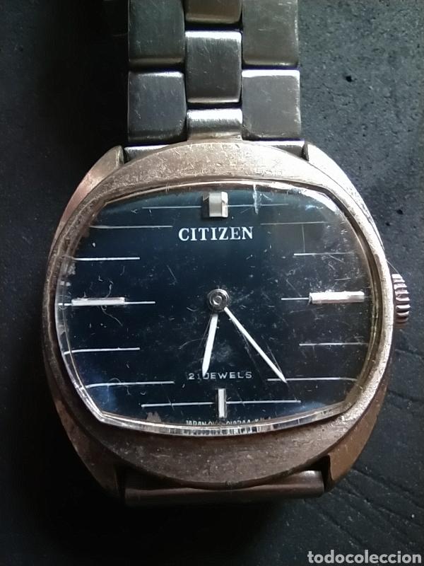 RELOJ CITIZEN ANTIGUO 21 DEWELS (Relojes - Relojes Actuales - Citizen)