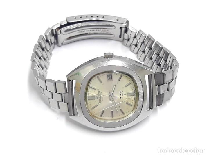 Relojes - Citizen: RELOJ VINTAGE CITIZEN AÑOS 70 AUTOMÁTICO CALIBRE 6001 - Foto 3 - 212003700