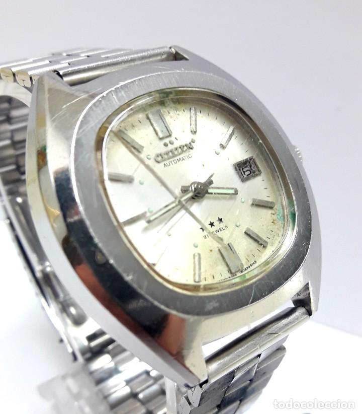 Relojes - Citizen: RELOJ VINTAGE CITIZEN AÑOS 70 AUTOMÁTICO CALIBRE 6001 - Foto 4 - 212003700