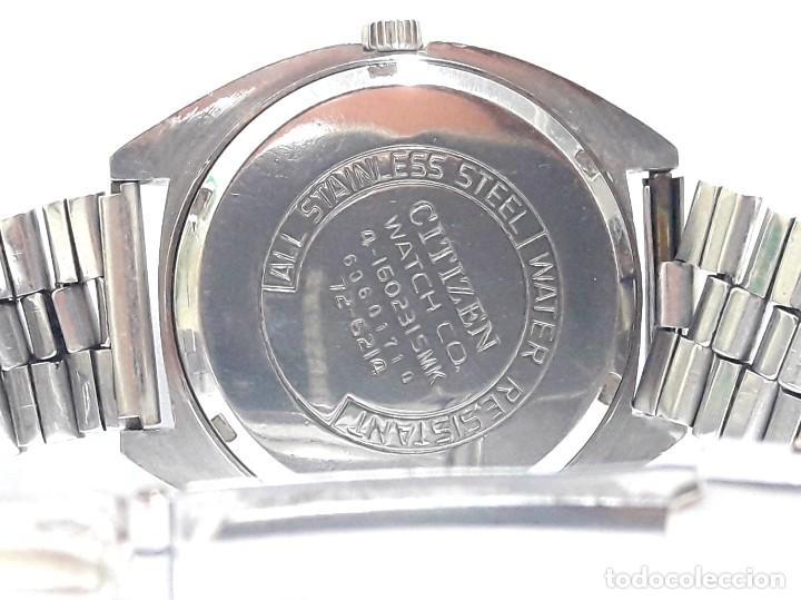 Relojes - Citizen: RELOJ VINTAGE CITIZEN AÑOS 70 AUTOMÁTICO CALIBRE 6001 - Foto 5 - 212003700