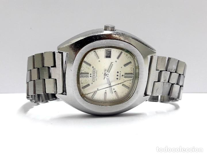 Relojes - Citizen: RELOJ VINTAGE CITIZEN AÑOS 70 AUTOMÁTICO CALIBRE 6001 - Foto 6 - 212003700
