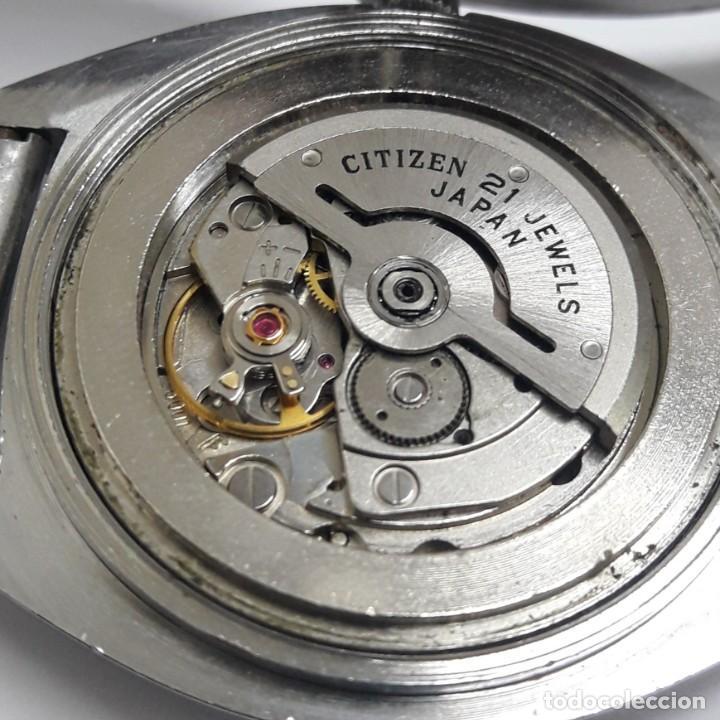 Relojes - Citizen: RELOJ VINTAGE CITIZEN AÑOS 70 AUTOMÁTICO CALIBRE 6001 - Foto 8 - 212003700