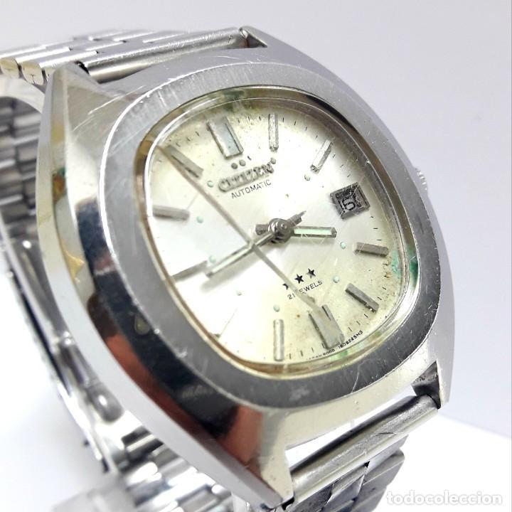 Relojes - Citizen: RELOJ VINTAGE CITIZEN AÑOS 70 AUTOMÁTICO CALIBRE 6001 - Foto 9 - 212003700