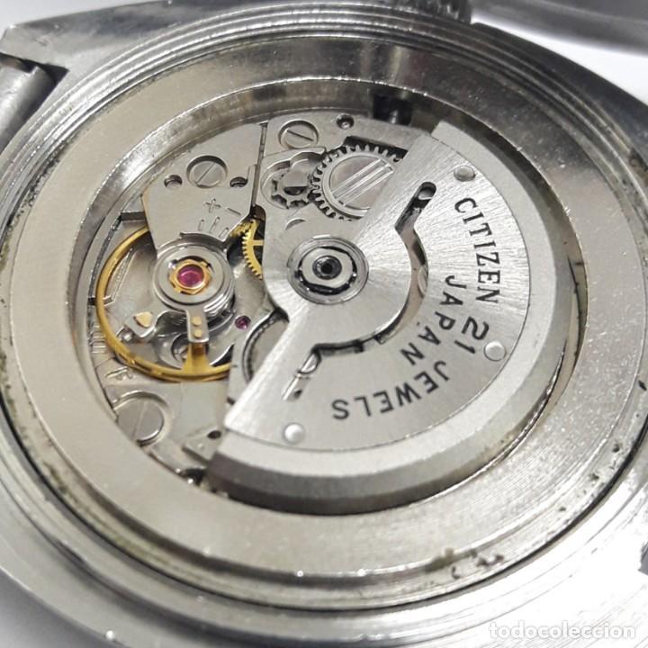Relojes - Citizen: RELOJ VINTAGE CITIZEN AÑOS 70 AUTOMÁTICO CALIBRE 6001 - Foto 10 - 212003700