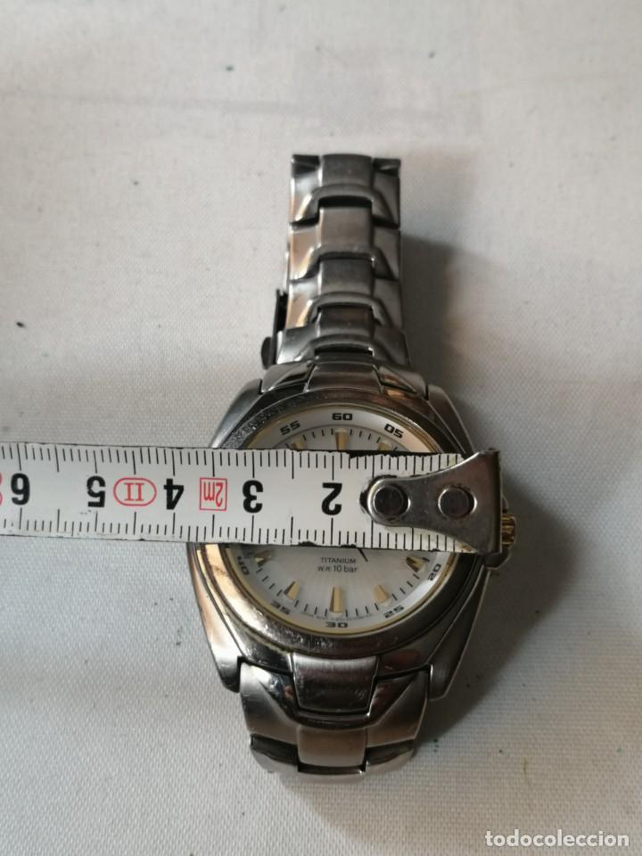 Relojes - Citizen: RELOJ DE CABALLERO CITIZEN ECO DRIVE TITANIUM W.R. 10 BAR - Foto 5 - 212247535