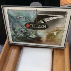 Relojes - Citizen: ESTUCHE O CAJA PARA CITIZEN ( EN MADERA ) ¡¡NUEVO!! (VER FOTOS). Lote 211601052