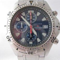 Relojes - Citizen: MACIZO CRONOGRAFO CITIZEN PROMASTER 200M CON EXTENSOR. Lote 214621976