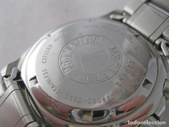 Relojes - Citizen: MACIZO CRONOGRAFO CITIZEN PROMASTER 200M CON EXTENSOR - Foto 5 - 214621976