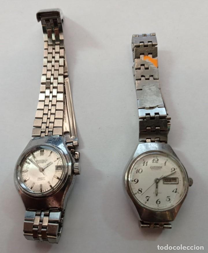 2 RELOJES PULSERA SEÑORA MARCA CITIZEN (Relojes - Relojes Actuales - Citizen)