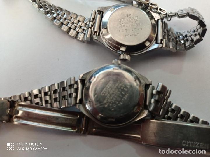 Relojes - Citizen: 2 RELOJES PULSERA SEÑORA MARCA CITIZEN - Foto 4 - 215763088