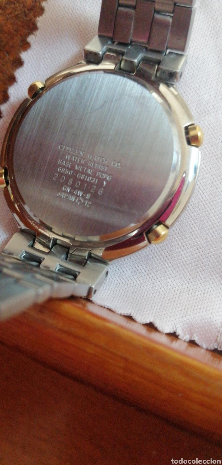 Relojes - Citizen: RELOJ DE PULSERA MARCA CITIZEN QUARTZ ALARM CHRONOGRAPH SEMINUEVO - Foto 3 - 215996823