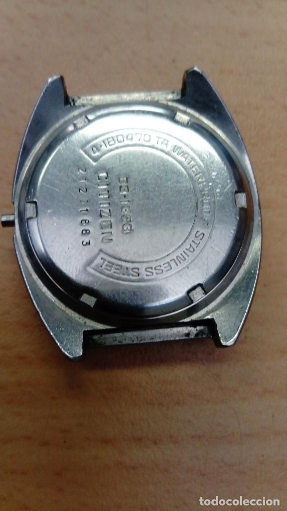Relojes - Citizen: Reloj Citizen de cuerda para piezas o reparación - Foto 2 - 217340105