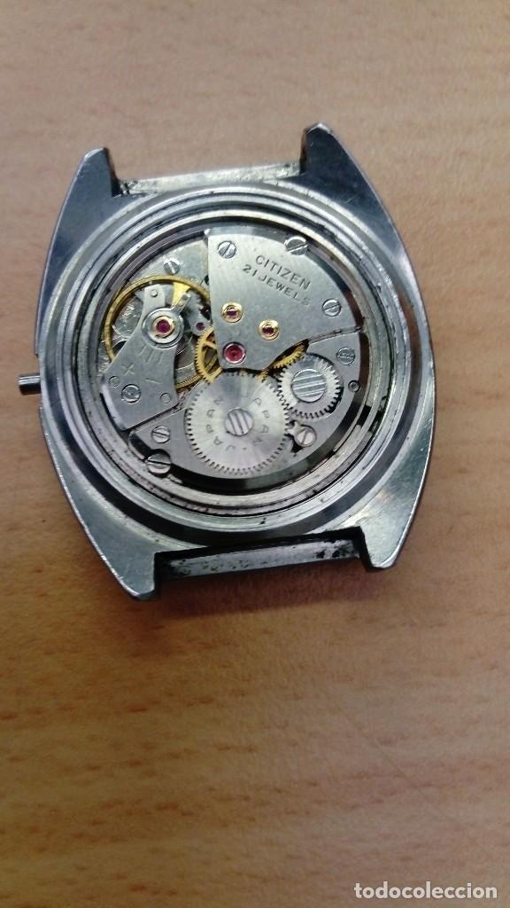 Relojes - Citizen: Reloj Citizen de cuerda para piezas o reparación - Foto 3 - 217340105