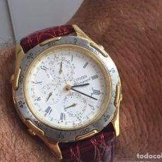 Relojes - Citizen: RELOJ CITIZEN HOMBRE CLASSICO CRONOGRAFO ALARM. Lote 218501470
