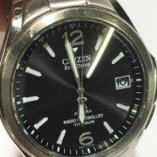 Relojes - Citizen: RELOJ CITIZEN ATTESA ECO-DRIVE RADIO CONTROLLED TITANIUM. Lote 219144363