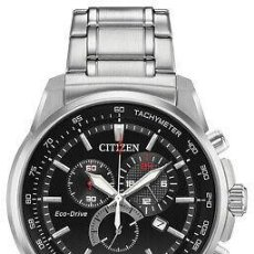 Relojes - Citizen: CITIZEN ECO-DRIVE MEN'S BRYCEN CHRONOGRAPH MULTI DIAL 44MM WATCH AT2370-55F. Lote 220959271