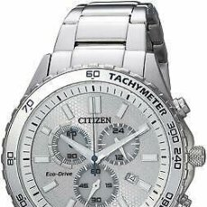 Relojes - Citizen: CITIZEN ECO-DRIVE MEN'S CHRONOGRAPH MULTI DIAL CALENDAR 43MM WATCH AT2129-58A. Lote 220960048