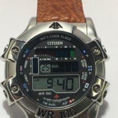 Relojes - Citizen: RELOJ CITIZEN PROMASTER WR 100 COMO NUEVO. Lote 220987402