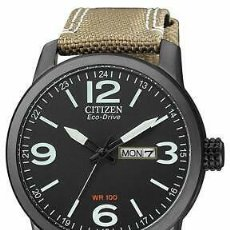Relojes - Citizen: CITIZEN ECO-DRIVE MEN'S GLOBAL COLLECTION BLACK DIAL BAND 42MM WATCH BM8476-31E. Lote 220989323