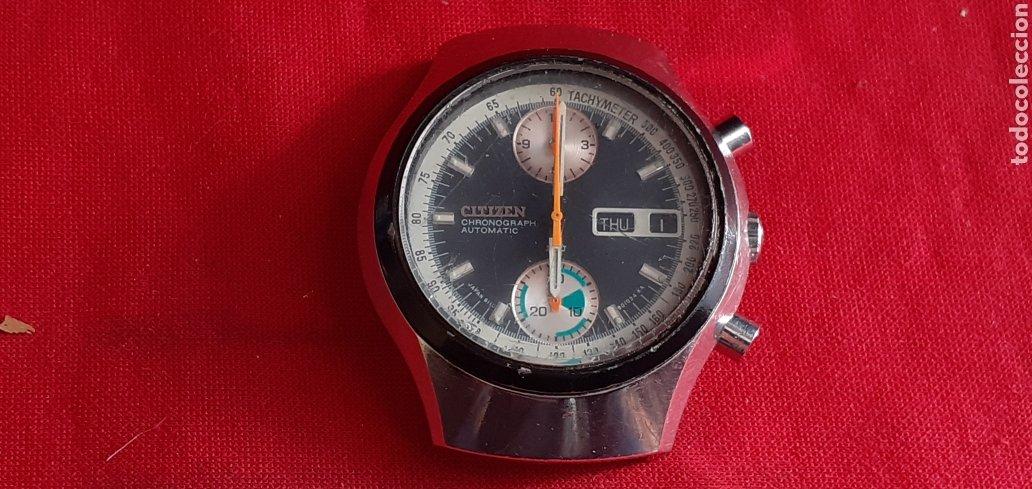 RELOJ CITIZEN CHRONOGRAPHE AUTOMATICO MIDE 38 MM DIAMETRO NO FUNCIONA (Relojes - Relojes Actuales - Citizen)