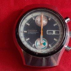 Relojes - Citizen: RELOJ CITIZEN CHRONOGRAPHE AUTOMATICO MIDE 38 MM DIAMETRO NO FUNCIONA. Lote 221084955