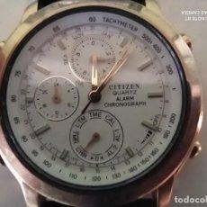 Relojes - Citizen: RELOJ CITIZEN QUARTZ ALARM CHRONOGRAPH. Lote 221337923