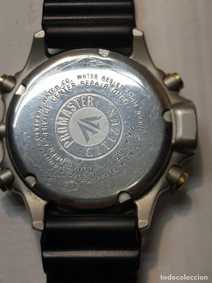 Relojes - Citizen: Reloj Caballero Buceo Citizen Promaster Hyper Aqualand 200 M funcionando escaso - Foto 2 - 221496711
