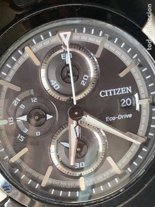 CITIZEN ECO-DRIVE SOLAR IMPECABLE ALTA CALIDAD (Relojes - Relojes Actuales - Citizen)