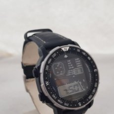 Relojes - Citizen: RARO CITIZEN WINDSURFER DIGITAL 42 -8035 GN -4-S FUNCIONANDO 39MM BISEL GIRATORIO. Lote 224152030