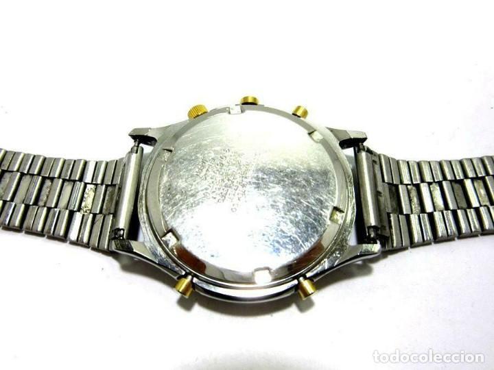 Relojes - Citizen: Citizen bonita esfera. reloj de pulsera banda de metal cronógrafo. ver fotos - Foto 2 - 225314045