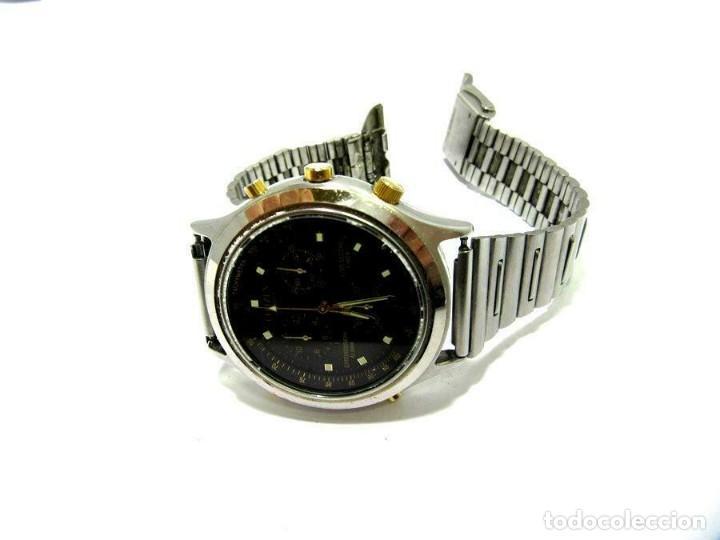 Relojes - Citizen: Citizen bonita esfera. reloj de pulsera banda de metal cronógrafo. ver fotos - Foto 4 - 225314045