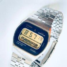 Relojes - Citizen: RELOJ DE PULSERA PARA CABALLERO DE LA CASA CITIZEN MULTI ALARM QUARTZ LCD JAPAN.. Lote 227842375