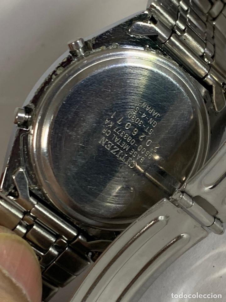 Relojes - Citizen: Reloj vintage CITIZEN MULTI ALARM-CHRONOGRAPH QUARTZ LCD JAPAN - Foto 7 - 227920511
