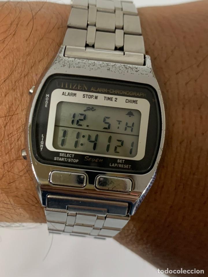 RELOJ VINTAGE CITIZEN MULTI ALARM-CHRONOGRAPH QUARTZ LCD JAPAN (Relojes - Relojes Actuales - Citizen)
