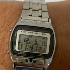 Relojes - Citizen: RELOJ VINTAGE CITIZEN MULTI ALARM-CHRONOGRAPH QUARTZ LCD JAPAN. Lote 227920511