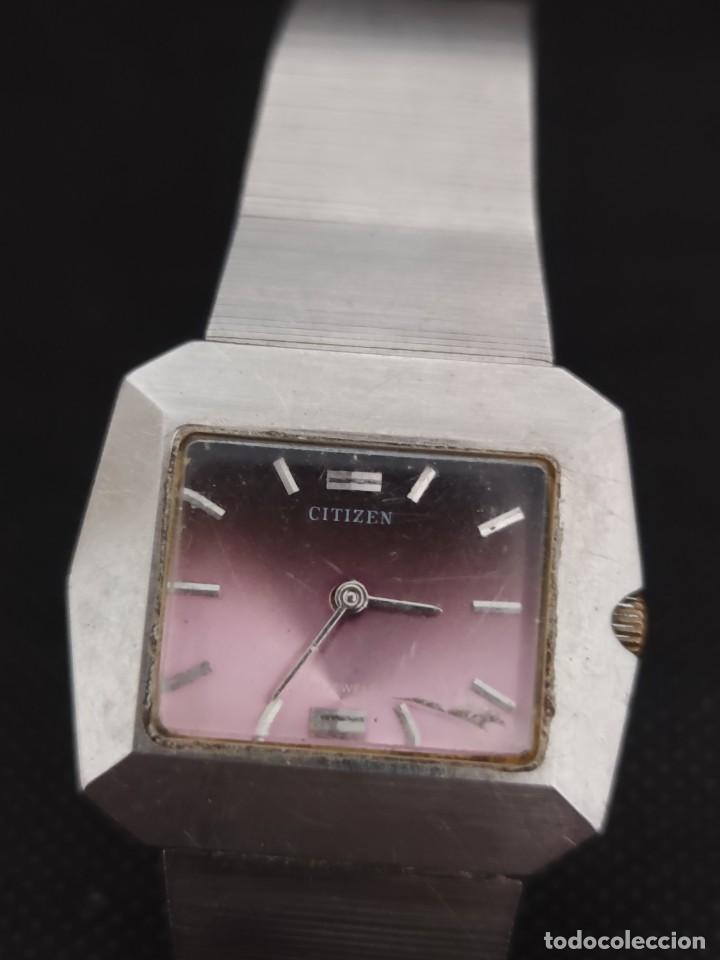 Relojes - Citizen: PRECIOSO RELOJ CITIZEN DE SEÑORA A CUERDA, FUNCIONA PERFECTAMENTE - Foto 2 - 229169885