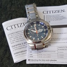 Relojes - Citizen: RELOJ CITIZEN CABALLERO. AUTOMÁTICO Y SUMERGIBLE. ECO - DRIVE TITANIO. Lote 233517440