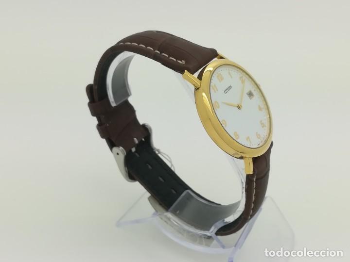 "Relojes - Citizen: Reloj de oro CITIZEN Cuarzo Fecha 18k ""Grabado"" 33mm de caja - Foto 3 - 236020440"