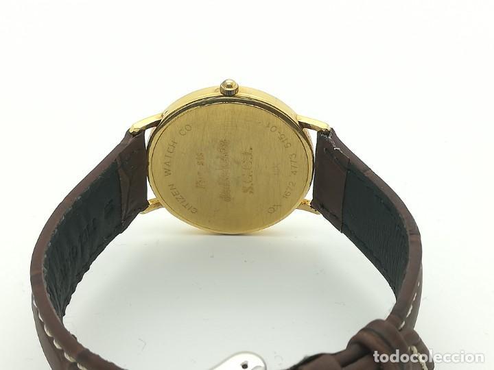 "Relojes - Citizen: Reloj de oro CITIZEN Cuarzo Fecha 18k ""Grabado"" 33mm de caja - Foto 8 - 236020440"