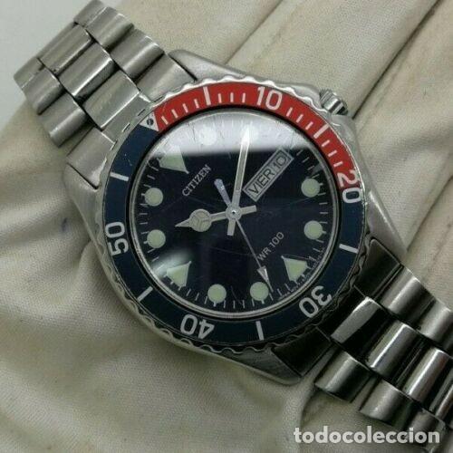 Relojes - Citizen: Mens CITIZEN Action 2000 Pepsi WR 100 - 6600-s70070 - 38mm Quartz Watch - Foto 3 - 236456975