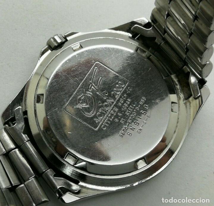 Relojes - Citizen: Mens CITIZEN Action 2000 Pepsi WR 100 - 6600-s70070 - 38mm Quartz Watch - Foto 10 - 236456975