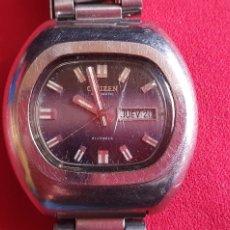 Relojes - Citizen: RELOJ CITIZEN AUTOMATICO 21 JEWELS FUNCIONA.MIDE 40MM DIAMETRO. Lote 241689630