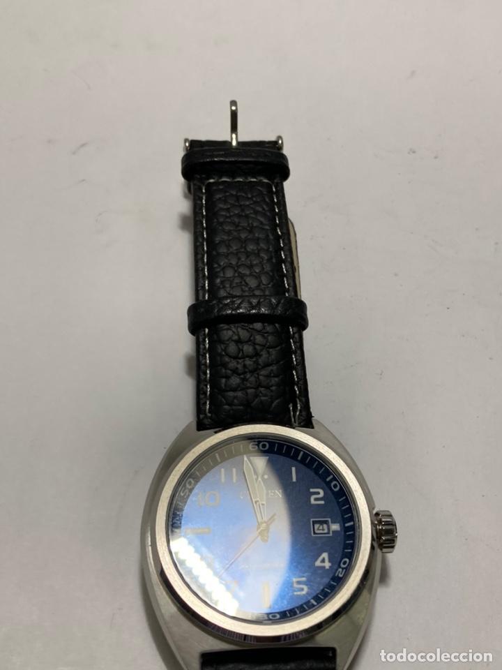 Relojes - Citizen: Reloj Automático Citizen OF, Citizen 8210, 42 mm, Azul, 10 atm, como nuevo - Foto 2 - 242307905