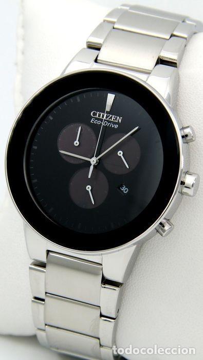 Relojes - Citizen: Citizen Eco Drive Crono Plata / Negro - Foto 3 - 243115040